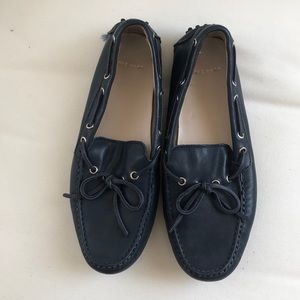 Cole Haan Navy Driving Loafers Size 6